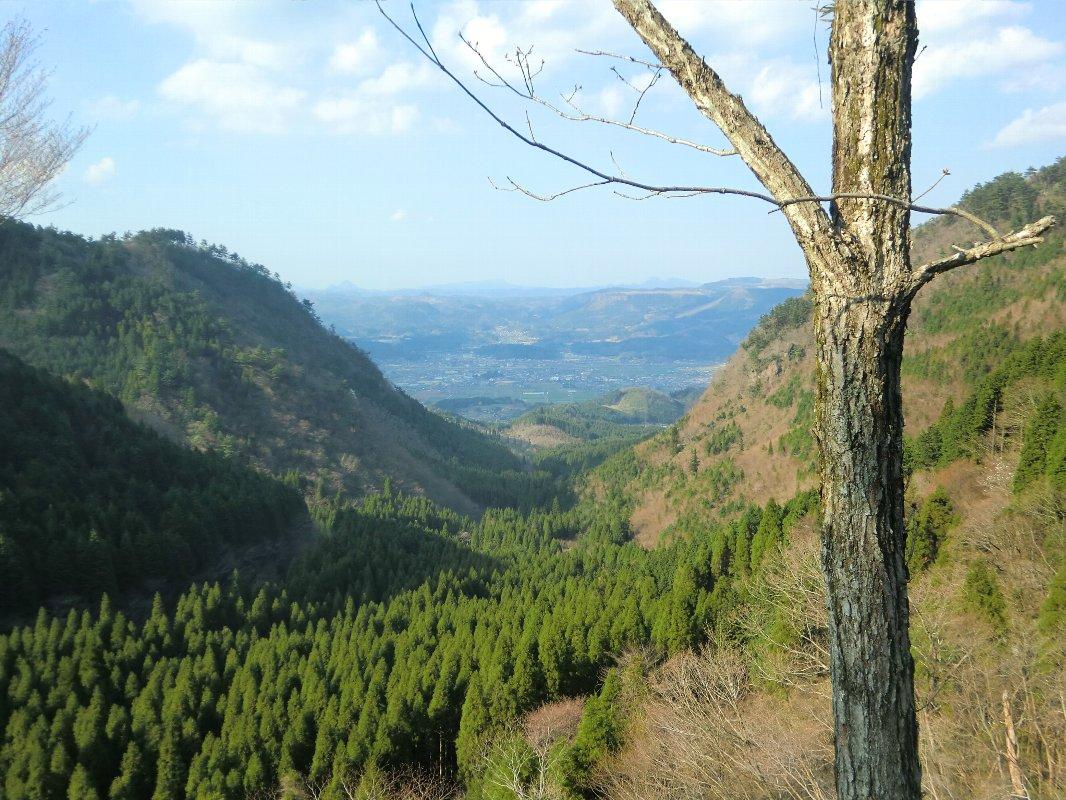 万年山からの景色