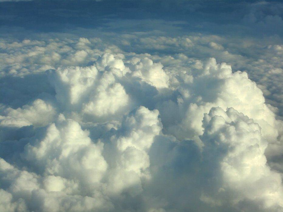 アイスモンスター(樹氷)のような雲海