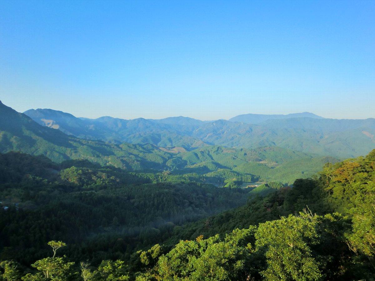 英彦山の山々