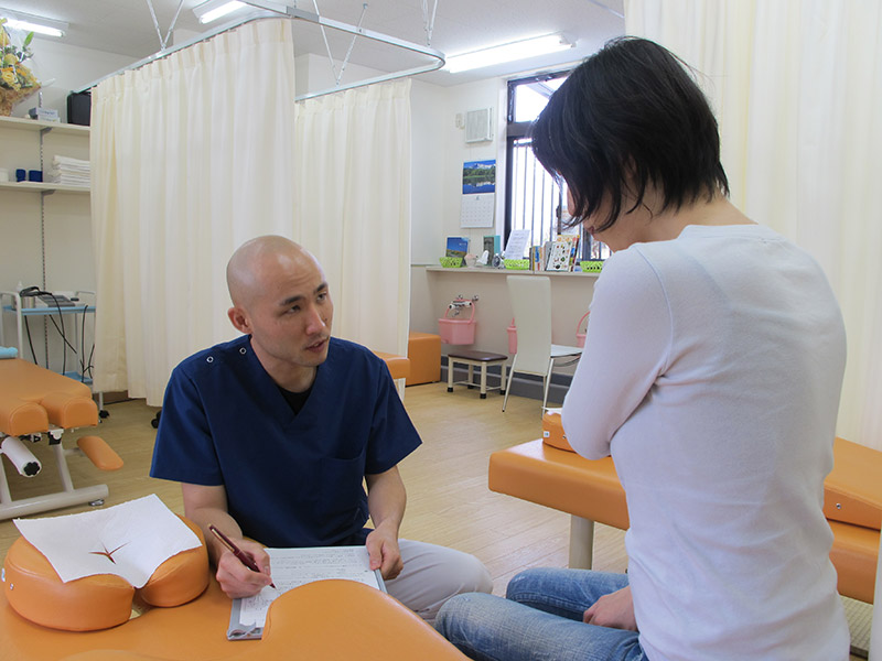 問診時の写真