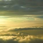 雲海の夕日2